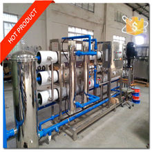 Manufacturer 2m3 /h a team of osmosis ro water treatment filtration processing