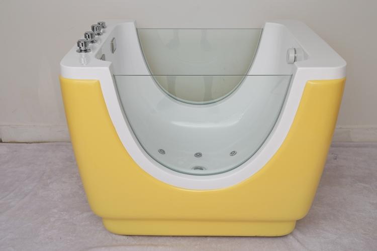 Hs B900 Acrylic Baby Infant Bathtub Massage Kid Spa View Sp