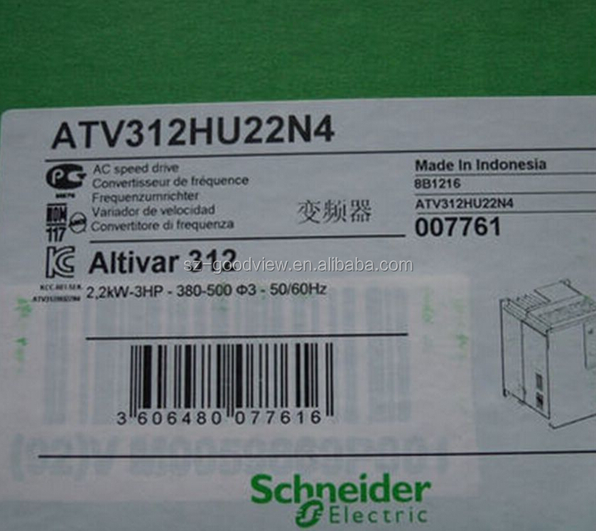Telemecanique Altivar ATV312HU22M2 Inverter