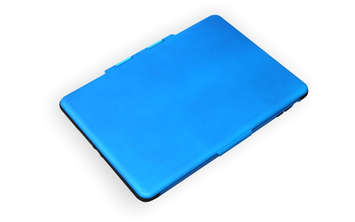 2014 New Arrival Design Fold TPU+PC smart case for ipad air