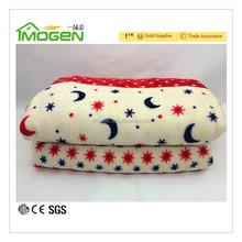 factory supplied stock coral fleece flannel fleece blanket