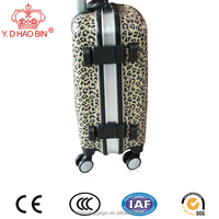 Suitcase Type and PC Material kofferset fashion high quality low price rolling luggage set