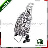 supermarket shopping trolley 4 wheel plastic shopping trolies