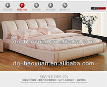 Pink Colour full size leather bed of best design