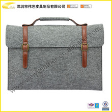 Felt Material Case For Ipad With Handle 2015 Hot Selling High Quality Fashion Cheap Tablet Case Felt Material Pouch For Ipad