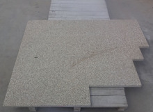 G350 yellow granite swimming pool bullnose tile swimming pool edge tile