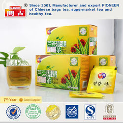 Korea elixir vera best diets slimming tea beauty detox and cleansing tea aloe beauty tea