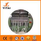 Metal e Nylon Zipper máquina, Plástico máquina de zíper