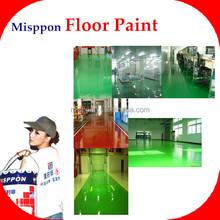 concrete epoxy floor coating for Africa market project (industrial floor paints)