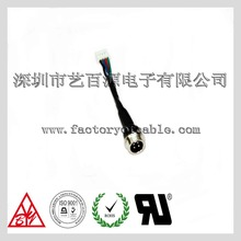 Electrical wire assembly of cable harness for car with aviation head socket