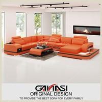 bangladesh home furniture,make sofa set,luxury modern leather corner sofa