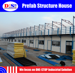Low Cost Prefab House / Villa / Container House for sale - 2015 New Model - FACTORY OUTLET - Prefab House