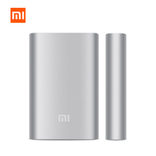 Newest 100% original xiaomi power bank 10000mAh xiaomi 10000 external battery pack portable charger mi charger mobile powerbank