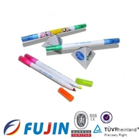 Novelties goods from china for promotion gifts magnet ball pen with highlighter set