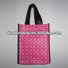 2011 latest hot seller stylish reusable eco fold up promotional nylon bag for shopping