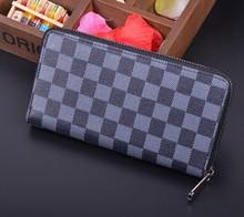 2015 brand new design wallet man wholesale man wallet with zipper