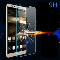 Manufacturers anti-scratch 9h 0.33mm 2.5D Tempered glass protective film For huawei mate7