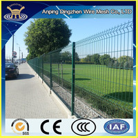 Hot sale high quality Metal wire mesh powder coated fence panels for sale