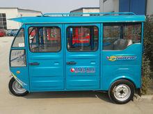 5-6 passengers seats three wheeler tricycle