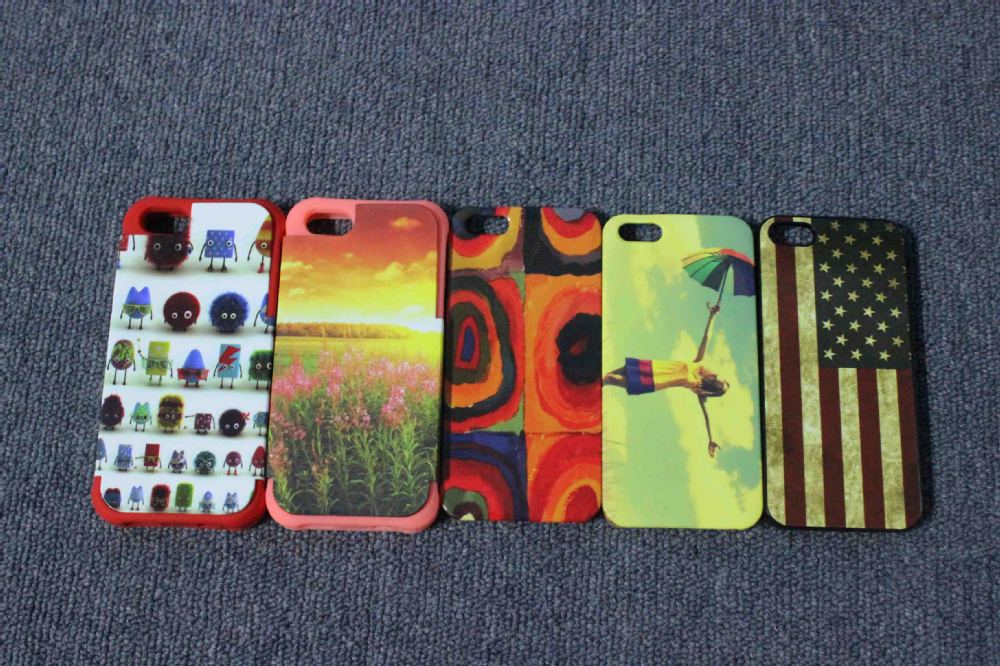 3D sublimation blank case for iphone 4 4s