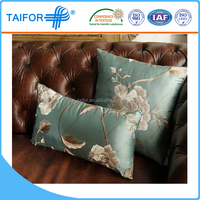 chinese embroidered plastic car seat cushion cover pillow cover