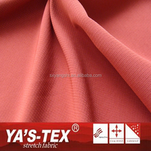 China Wholesale Durable Polyester Spandex Blend Four Way Stretch Fabric For Sportswear