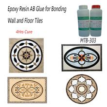 Fast Cure clear resina epossidica liquida colla per pavimenti e rivestimenti