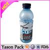 Yason pvc shrink label printing water bottle shrink lable printing/express bag with pocket 30u pvc shrink sleeve energy drink la