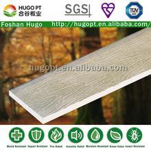 dampproof nenhuma rachadura de grão de madeira revestimento externo painel de parede de madeira da grão