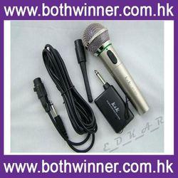 HT041 double channels cheap wireless microphone