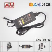 ac/dc Adapter cctv Camera 12V 5A switching Power adapter / 12v Dc 5a antenna Power Supply