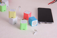 New mini square bluetooth self-timer speaker portable wireless bluetooth speaker anti lost for cell phone