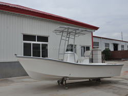 Liya 5.8 meter 7.6 meter best classic fiberglass wave boat for sale