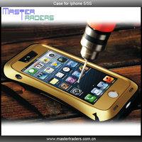 Original LOVE MEI Small Waist life Waterproof proof Metal Case For iphone 5 5S MT-1434