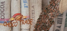 burlap jute bags after the cocoa beans and coffe DEKORATIV