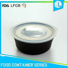 Various colorful kinds great food transport container