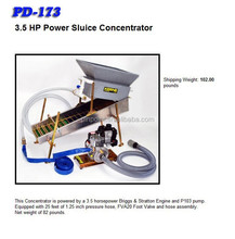Dry Washer metal detector 3.5 HP Power Sluice Concentrator for gold find in desert for model MD-100 detect gold much and fast