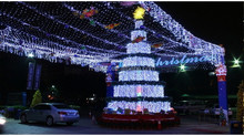 8*10m 600 leds Christmas LED Net Light Party Decoration