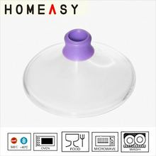 Kitchen use heat-resistant induction frying pan glass lid