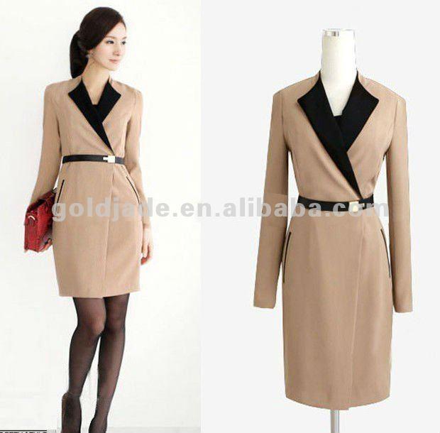 2015 ladies women clothing office wear dresses dress