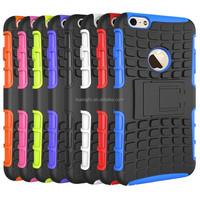 Fashion Cool TPU/PC Tire Bracket Armor for Iphone 6 Case