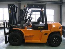 Diesel Forklift truck smaller CPCD50 forklift attachment