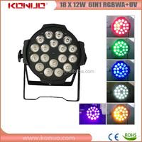 18x12W 6in1 rgbaw uv big dipper led par light