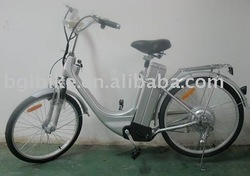 E-bike beach cruiser