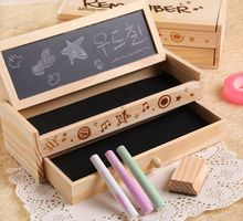 Hot sale low moq wooden pencil packing box for decoration
