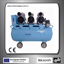 shanghai dragon compressor oil free air compressor silent