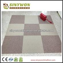 Light and Earth Color 50x50cm PP Office Carpet Tile