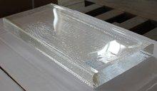 incoloro bloques de vidrio de cristal