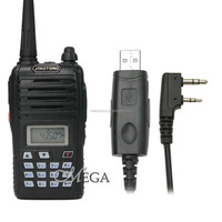 wholesale,ham radio,Cheap radio,JT-988 UHF 400-470 Mhz handheld radio LED flash + USB program cable software CD