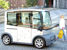 High quality mini electric bus/ electric car